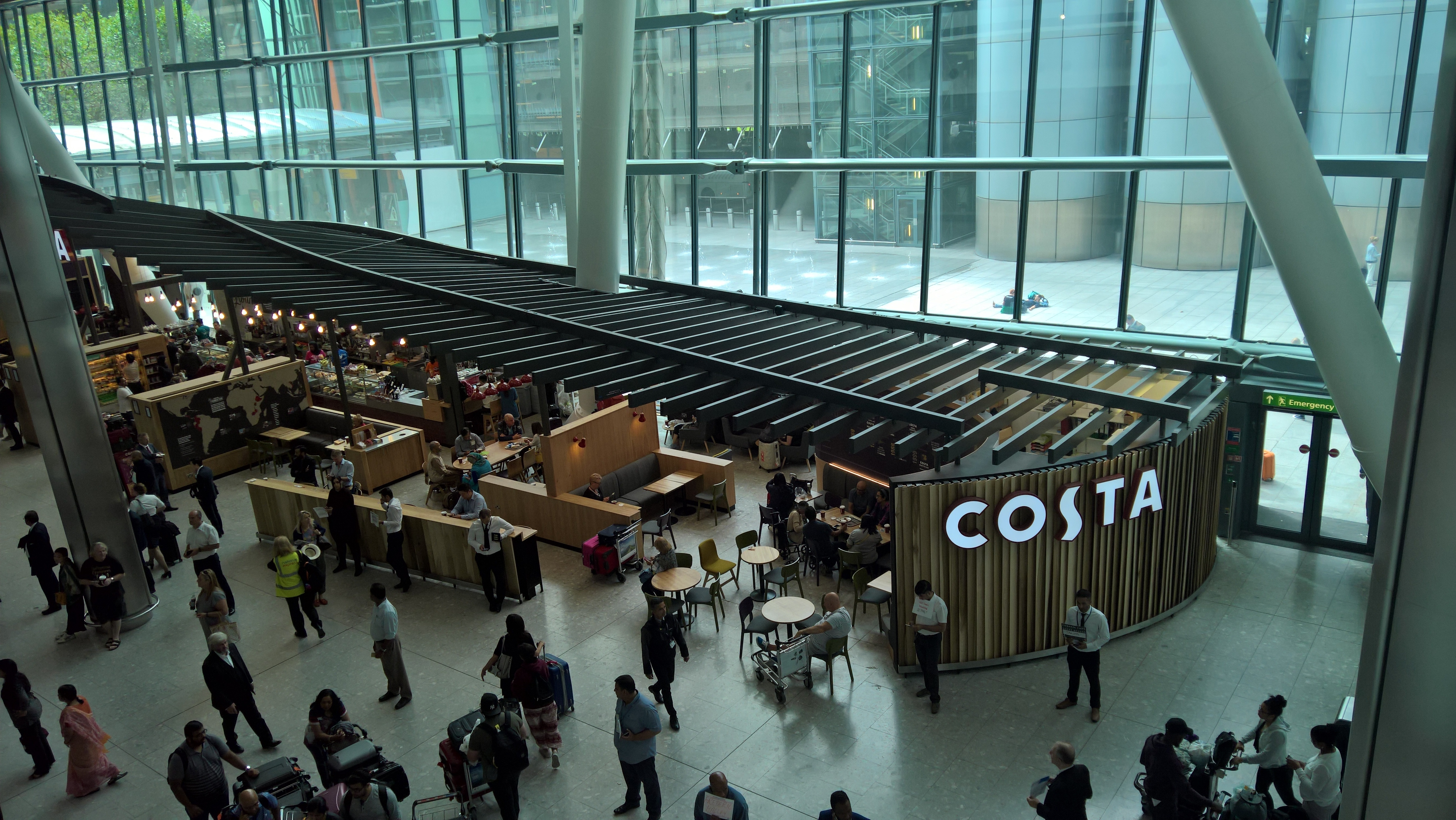 Booth King Partnership Project Update Costa Coffee